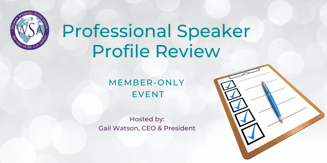 Speaker Profile Review Call